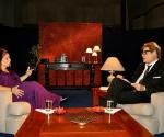 "Sonia Silvestre en ""Con 2 que se quieren"" que conduce Amaury Pérez. Foto: Petí"