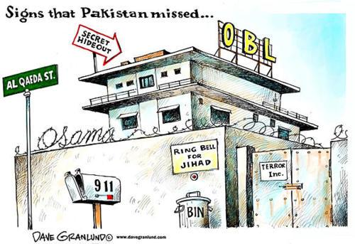 Las señales de que Osama estaba perdido en Pakistán.