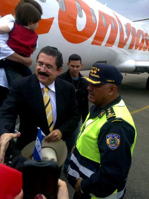 En Tegucigalpa. Foto: Noticias 365