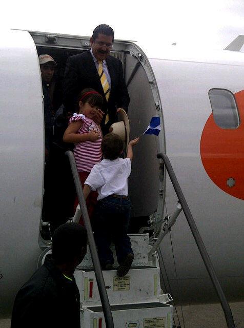 Llegada a Honduras. Foto: Noticias 335