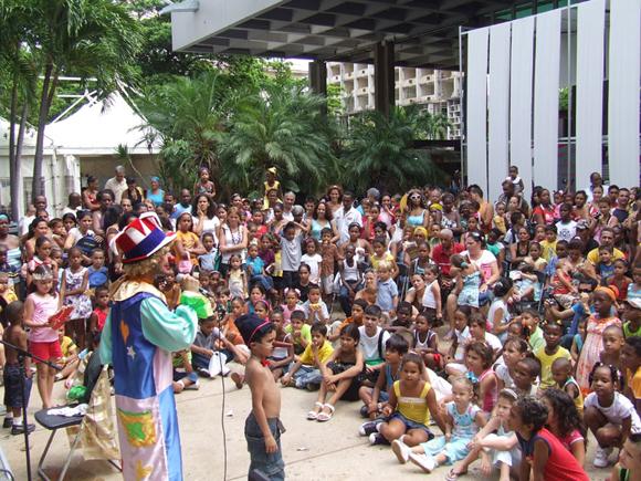 Se mantendrán las actividades para niños los sábados y domingos a partir de las 11 de la mañana. Foto archivo: Marianela Dufflar