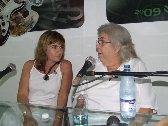 """Los """"Encuentros con…"""" auspiciados por la propia Asociación con personalidades de la cultura cubana y conducidos por Magda Resik se realizarán los jueves a las 4 de la tarde. Foto archivo: Marianela Dufflar"""