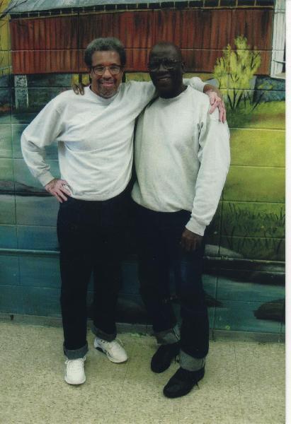 Albert Woodfox, de 64 años, y Herman Wallace, de 69, en la cárcel de Angola.