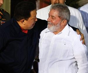 Chávez y Lula. Foto: Archivo