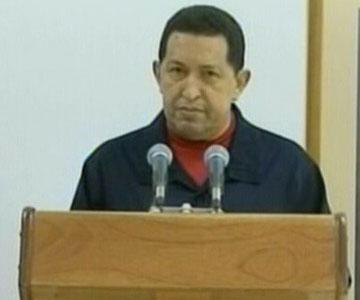 Chávez habló desde La Habana