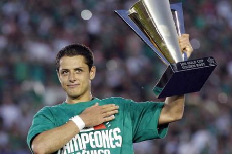 Chicharito Hernández fue el líder goleador y Jugador Más Valioso de la Copa de Oro