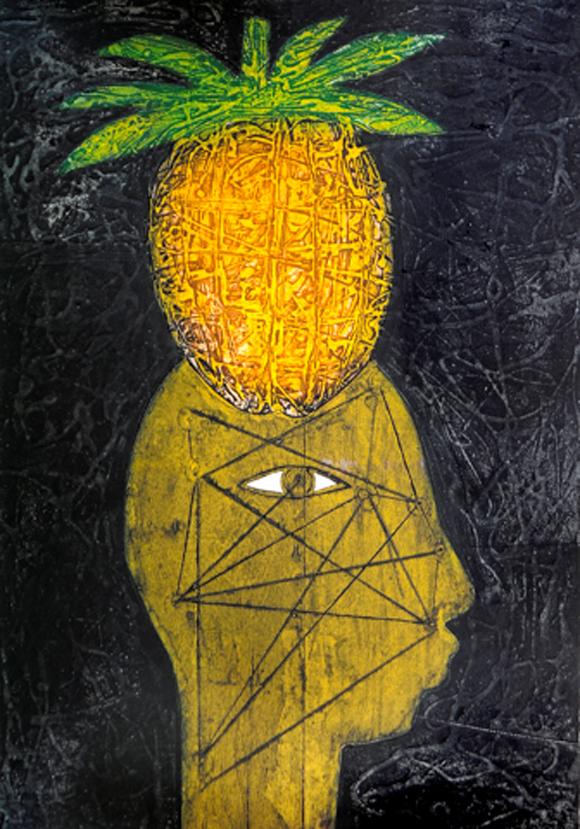 Eduardo Roca (Choco): Cabeza de piña
