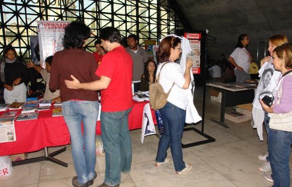 Los participantes al XIX Convención de Solidaridad con Cuba, en Sao Paulo.