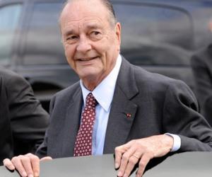 El ex presidente francés Jaques Chirac