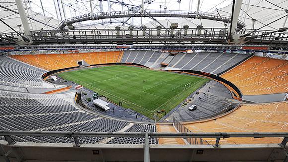 Estadio Ciudad de La Plata. La Plata (700.000 habitantes), capital de la provincia de Buenos Aires, 56 kilómetros al sur de la capital argentina. Foto: