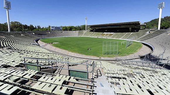 Estadio Islas Malvinas. Mendoza (112.000 habitantes), capital de la provincia homónima, 1.037 kilómetros al oeste de Buenos Aires.