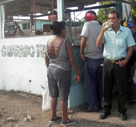 Para mitigar el calor cubano. Foto Jorge Camarero Leiva