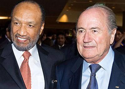 Hammam y Blatter: Disputa en el reino de la FIFA