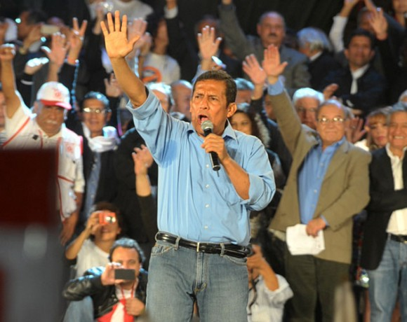 Oyanta Humala. Foto:AFP PHOTO/CRIS BOURONCLE