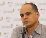 Ministro de la Comunicación y la Información de Venezuela, Andrés Izarra.