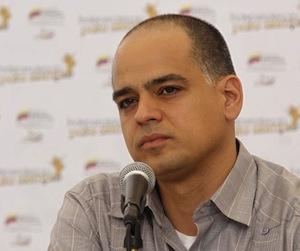 Andrés Izarra, ministro de Comunicación de Venezuela.