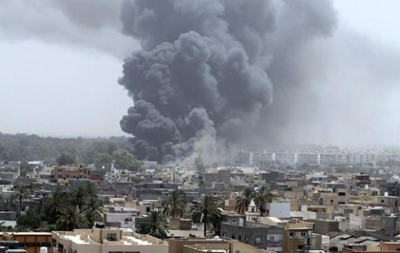 Bombardeo en Trípoli de la OTAN