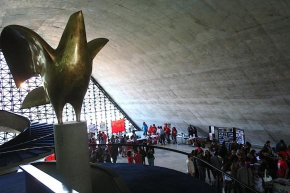 El Memorial de América Latina en Sao Paulo durante la XIX Convención Nacional de Solidaridad con Cuba