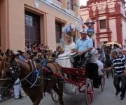 Los paseos en coches son tradicionales en el San Juan camagüeyano, en Camagüey el 25 de junio de 2011. AIN FOTO/ Rodolfo BLANCO CUE