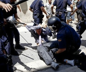 Protestas en España