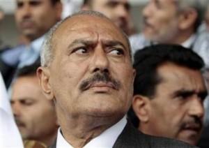El presidente de Yemen Alí Abdullah Saleh. Foto: Reuters