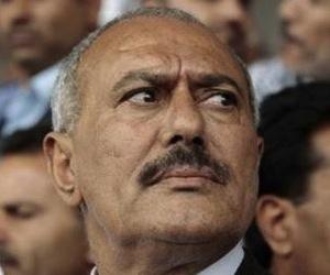 El presidente de Yemen Alí Abdullah Saleh