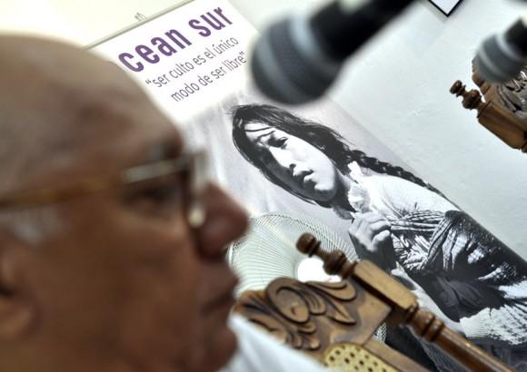 deEl poeta y cineasta cubano Víctor Casaus, director del Centro Cultural Pablo de la Torriente Brau. Foto: Kaloian.