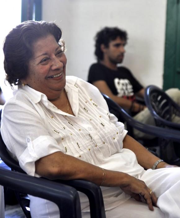 Aída Cañas, compañera de Roque Dalton.