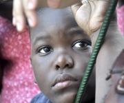 Los niños son protagonistas en los conciertos de Silvio por los barrios. Foto Kaloian