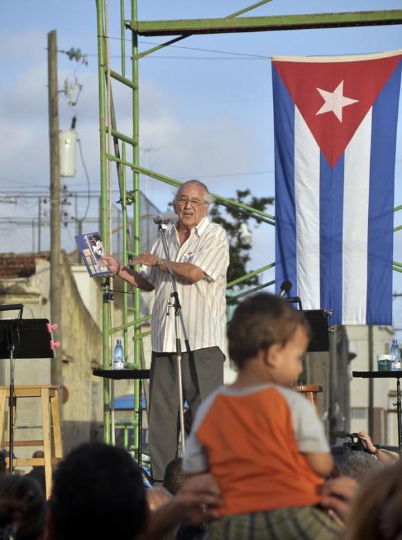 El escritor y periodista Jaime Sarusky, Premio Nacional de Literatura. Foto Kaloian