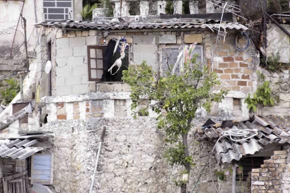 Vista de su casa. Foto: Alejandro Ramírez Anderson
