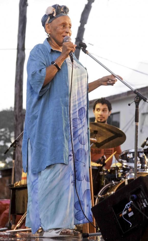 Omara, la del canto magnífico. Foto: Alejandro Ramírez Anderson