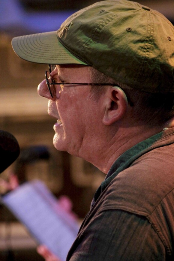 Silvio, quien cantó la última canción más de una vez. Foto: Alejandro Ramírez Anderson