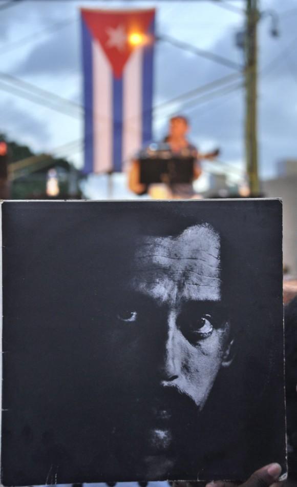 Silvio Rodríguez en La Timba. Foto Kaloian