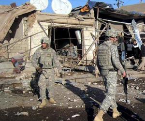Soldados estadounidenses en Iraq.