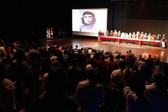 Sesión de la Convención de Solidaridad con Cuba.  Foto: Norelys Morales