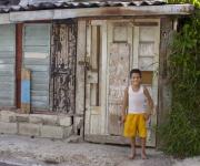 Alegría infantil y fachada segura. Foto: Alejandro Ramírez Anderson