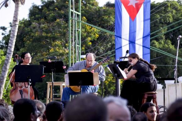 Momento para la música clásica. Foto: Alejandro Ramírez Anderson