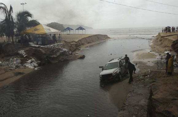 Tormenta Beatriz se transforma en huracán. Foto: Reuters
