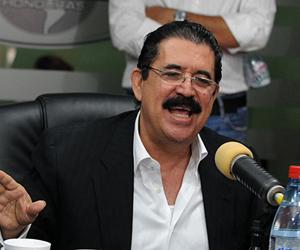 Ratifica Zelaya desconocimiento a presidente electo