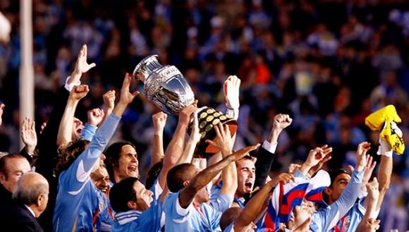 Uruguay Campeón de la Copa América. Foto tomada de Cubadebate.