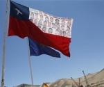 Sindicatos en huelga, Chile. Foto: Reuters