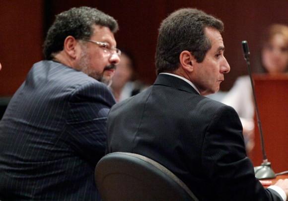 Bernardo Moreno (derecha). Foto: AP