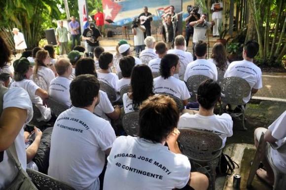 Brigada europea José Martí visitará provincia cubana.
