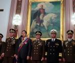 Hugo Chávez en acto por Bicentenario