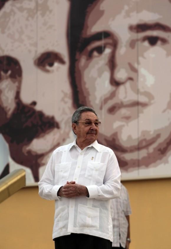 Raúl en Ciego de Ávila. Foto: Ismael Francisco