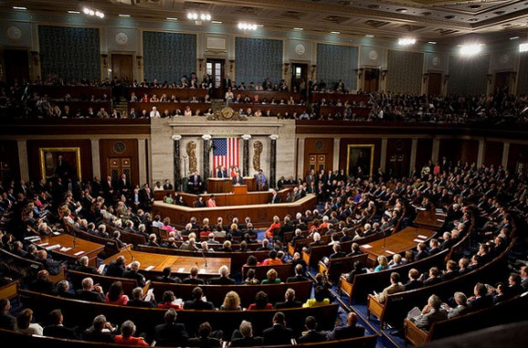 Congreso de EEUU, un valladar contra las regulaciones a la tenencia de armas. Foto: Oficial de la Casa Blanca / Archivo