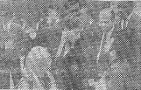 Fischer y Stein hablan con Fidel en 1966