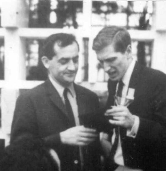 Stein y Fischer conversan sobre su posible match en La Habana, 1966