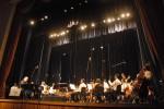 Concierto del maestro Frank Fernández y la Orquesta Sinfónica de Holguín, en el teatro Eddy Suñol, de la ciudad de Holguín, el 22 de julio de 2011. AIN FOTO/Juan Pablo CARRERAS
